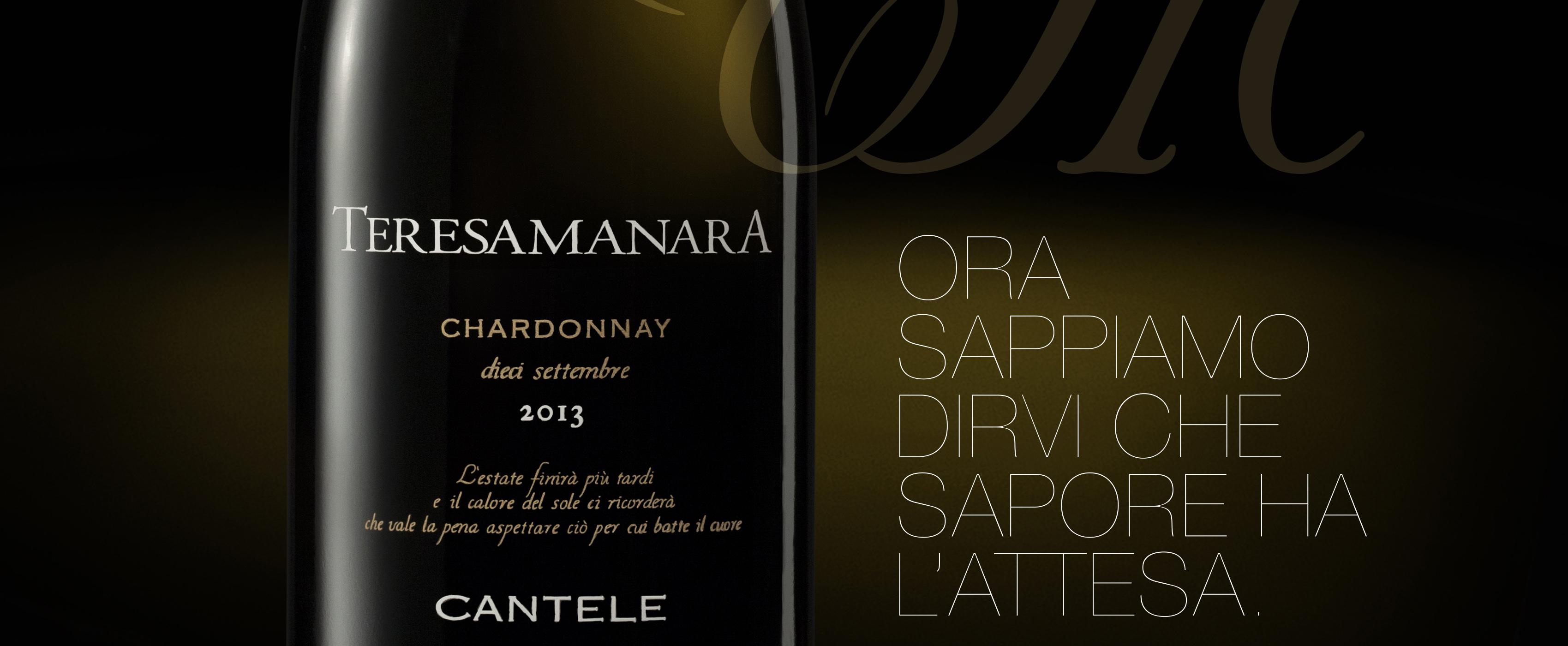 "Teresa Manara Chardonnay ""Dieci Settembre"""