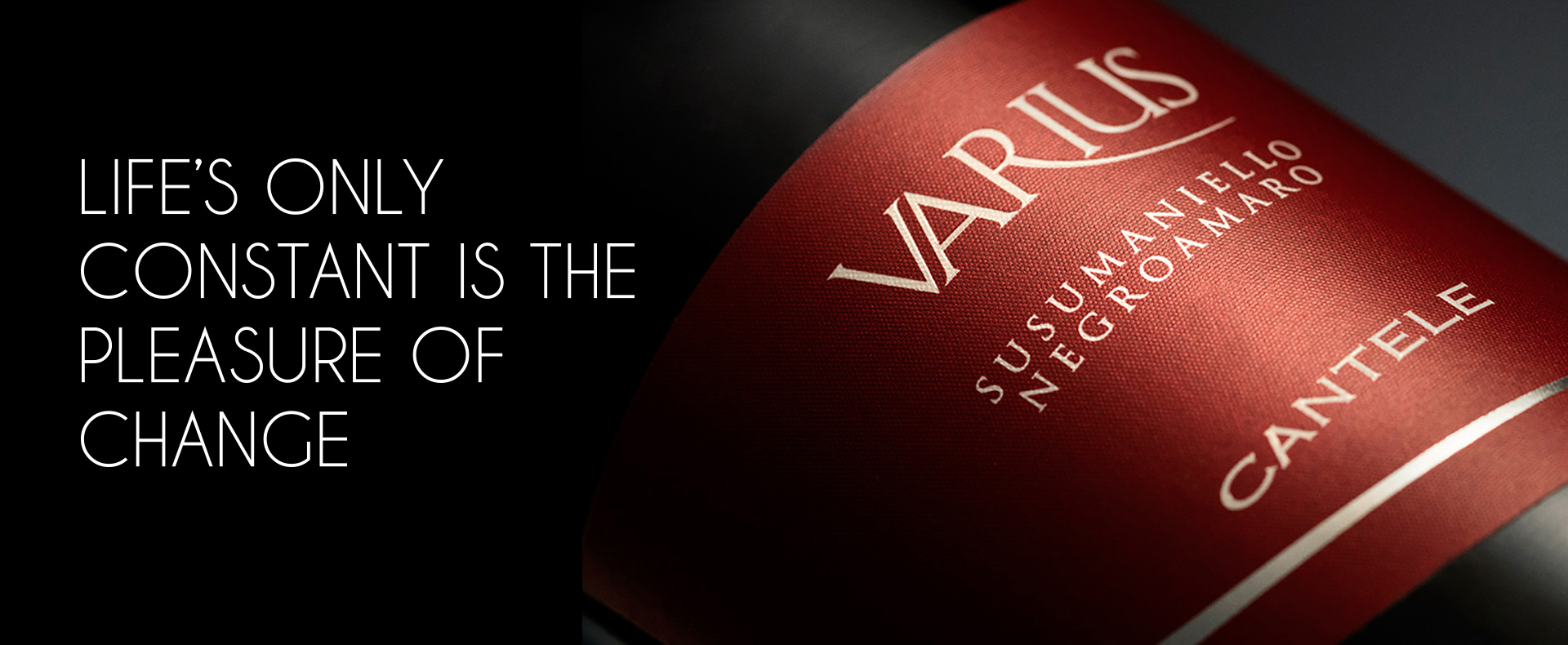 Varius, a new blend: Susumaniello and Negroamaro