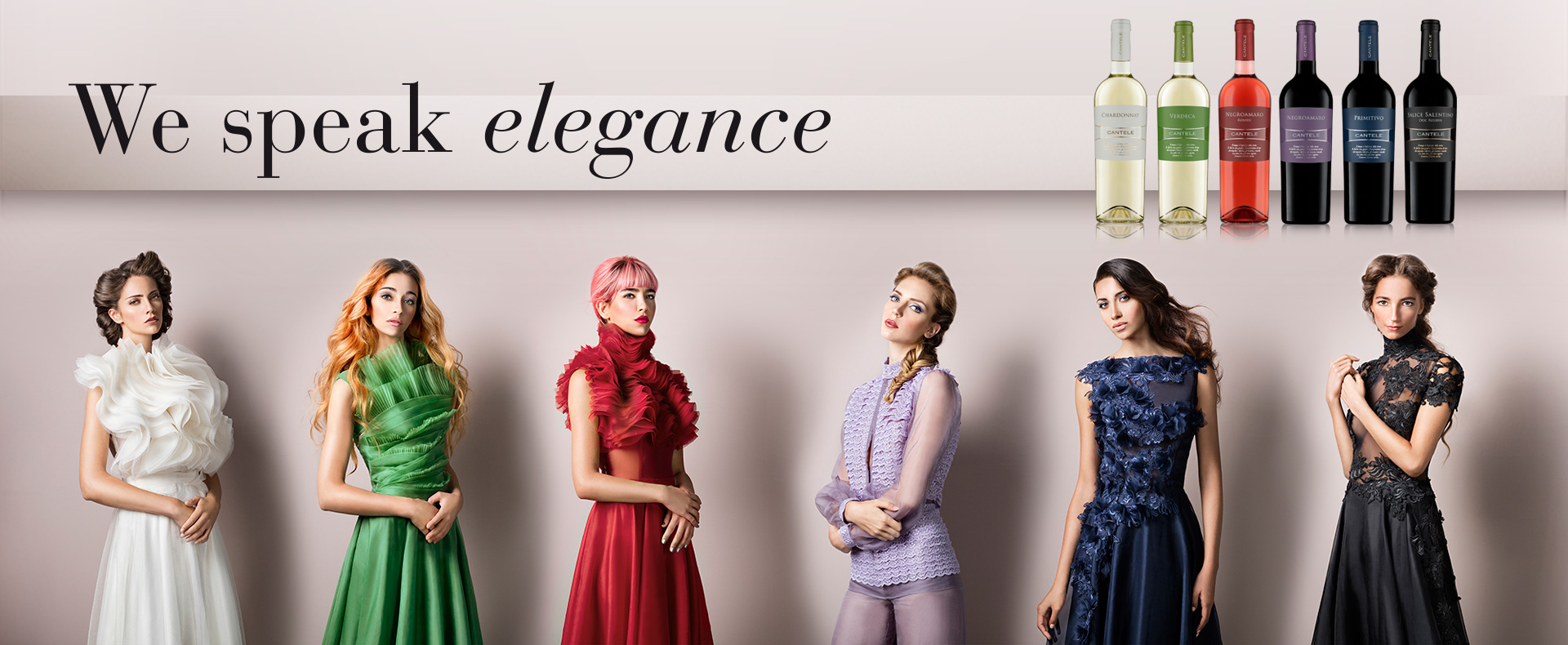 The colors of elegance