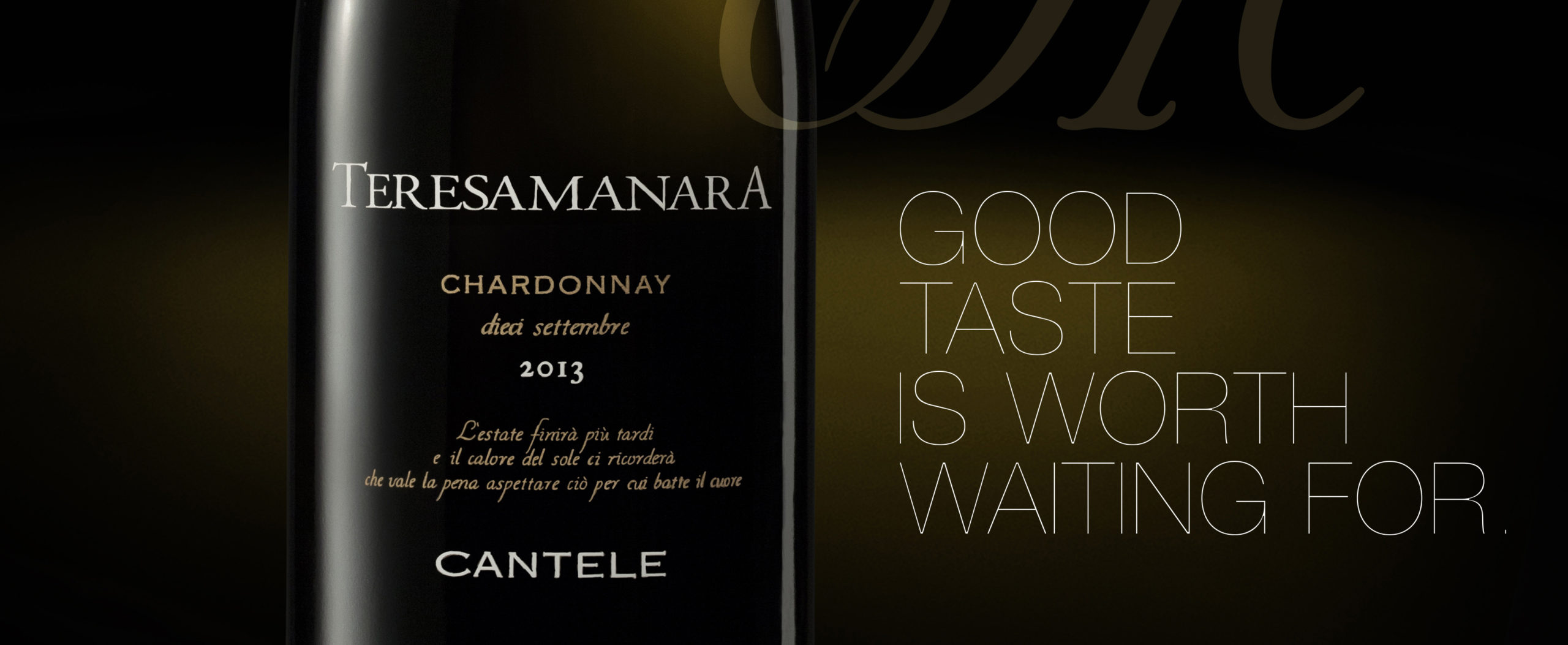 "Teresa Manara Chardonnay ""Dieci Settembre"" (""September 10"")"