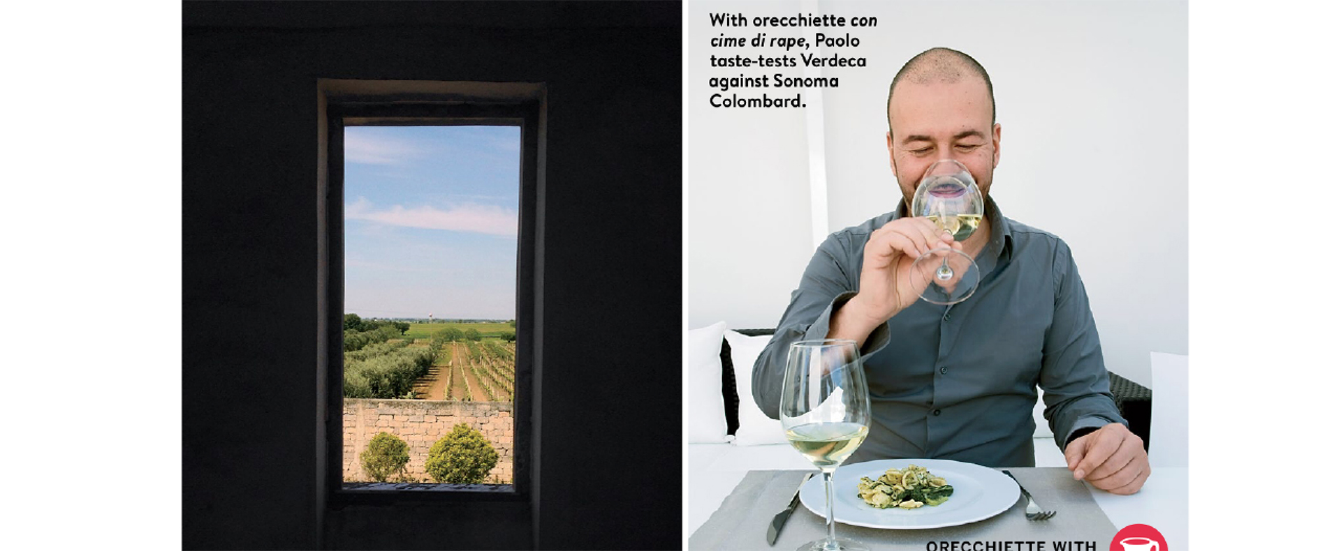 Paolo and Gianni featured in Food & Wine magazine