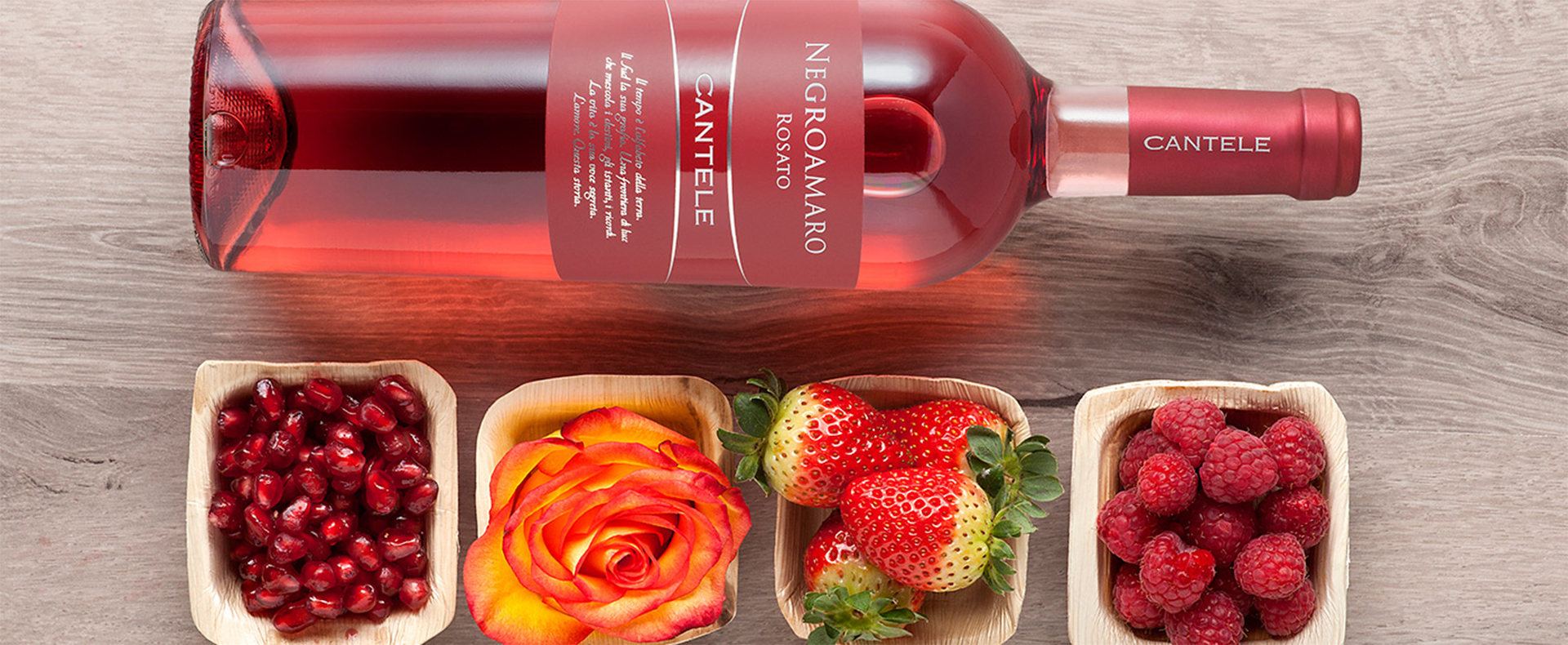 "Wine Enthusiast: ""Cantele's Negroamaro Rosato is a great top sirloin pairing."""