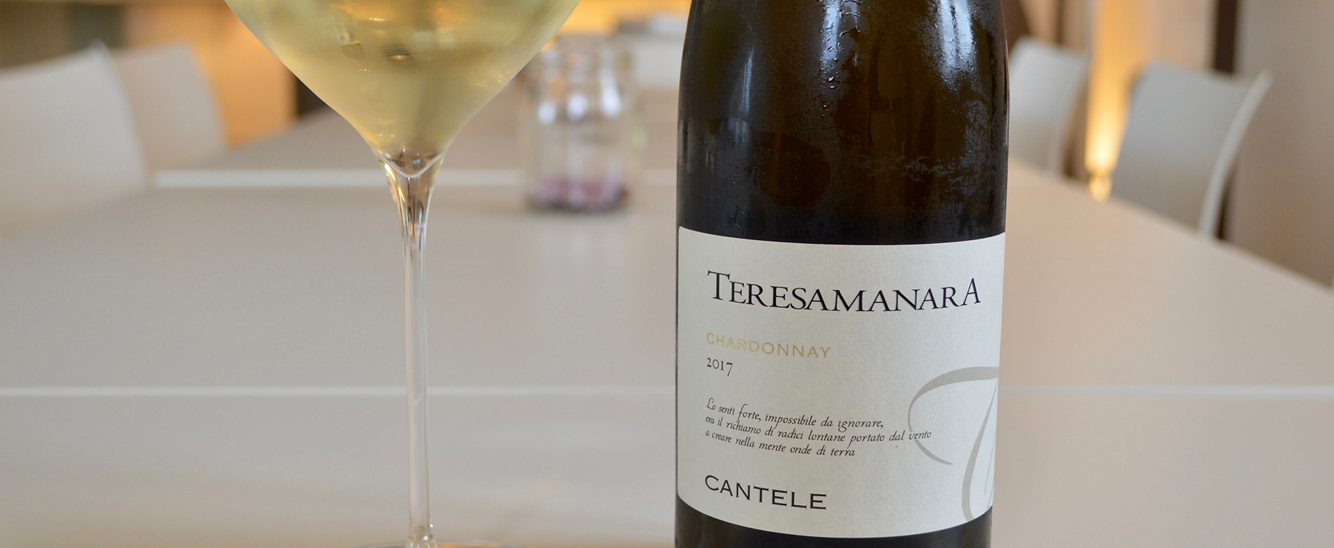 "Coming soon to America: Teresa Manara Chardonnay 2017, a ""spectacular vintage"""