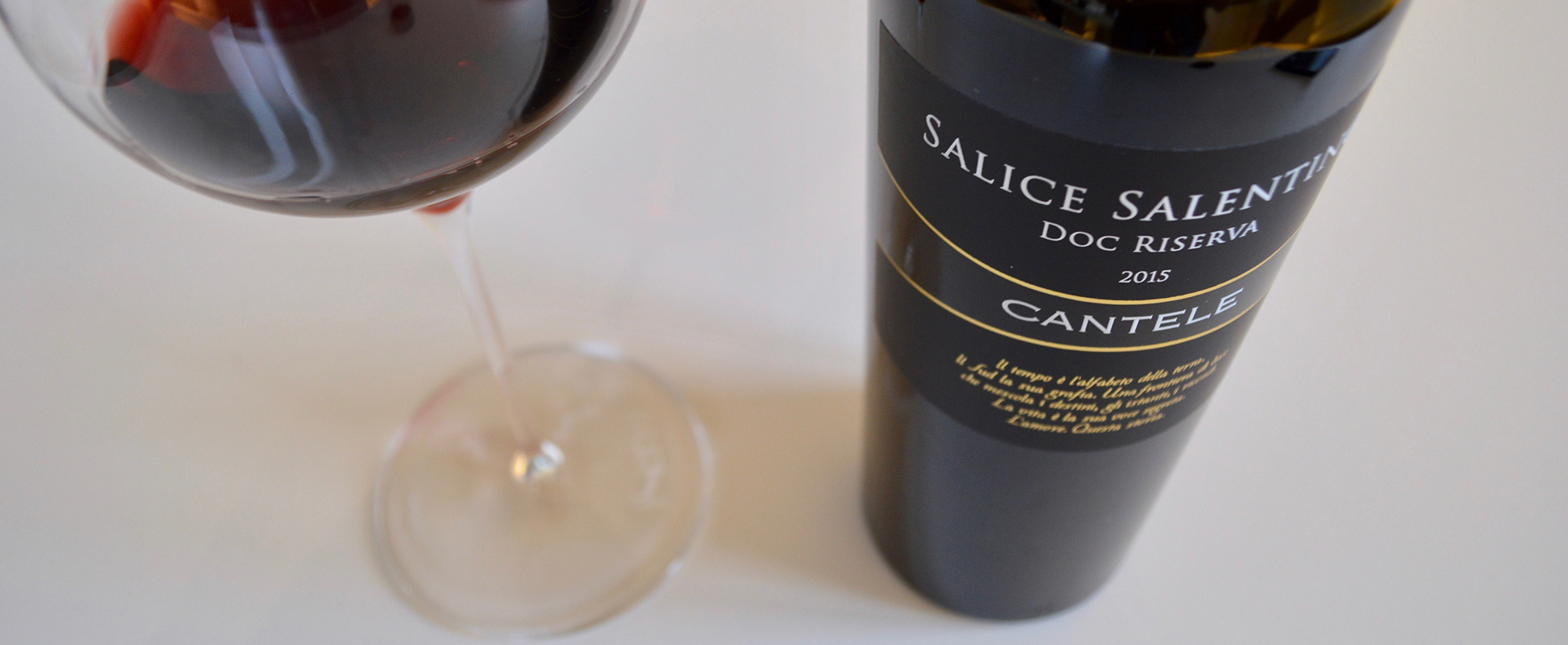 Wine Folly — the number one wine blog in the world — recommends Cantele Salice Salentino