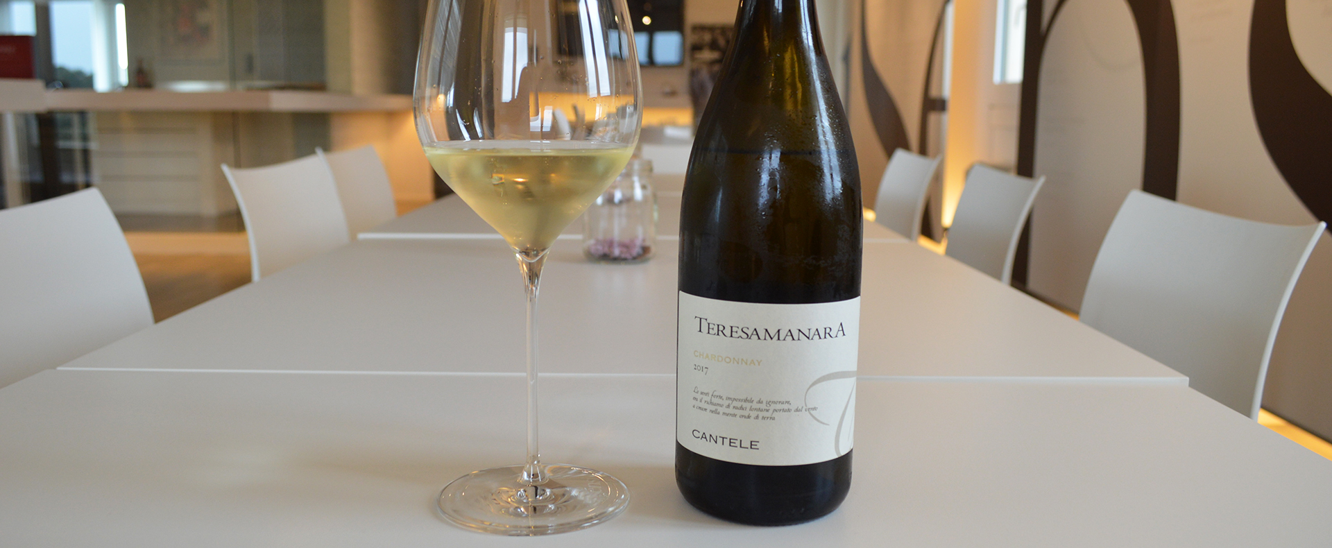 Twenty years of Teresa Manara Chardonnay, named after the woman who inspired it all…