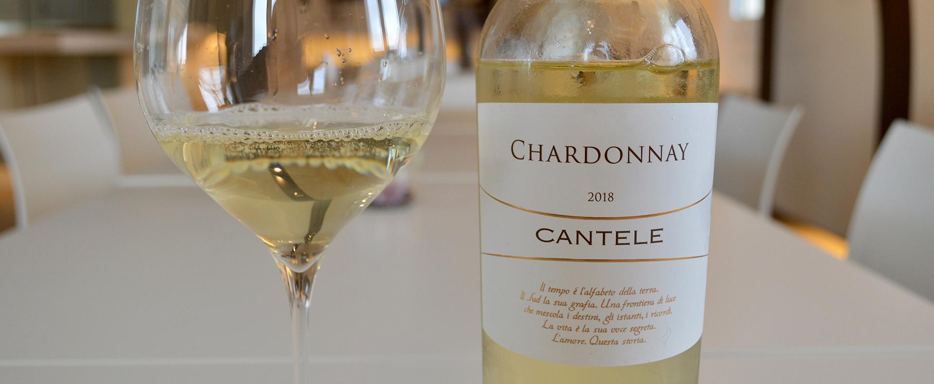 """Cantele Chardonnay for summer: A Chardonnay """"benchmark"""""""