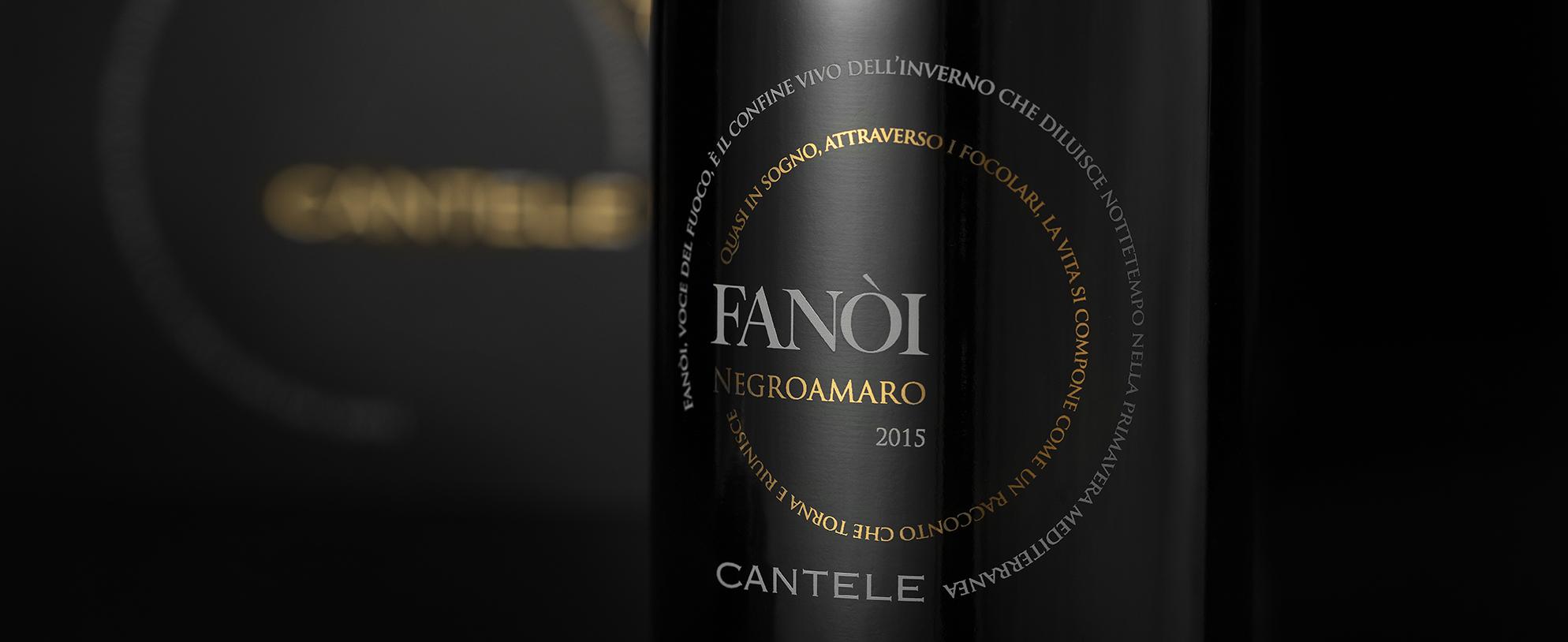 L'anima del Fanòi da vita ad un nuovo vino: il Negroamaro.
