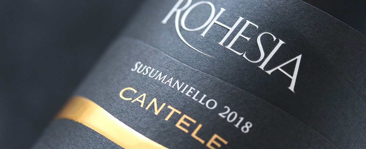 Rohesia isn't just Negroamaro Rosato anymore.